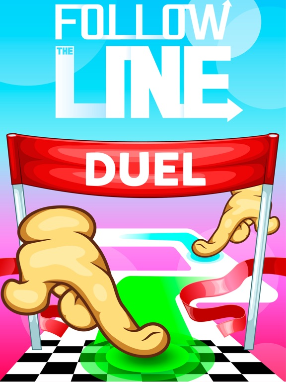 Follow the Line Duel 2D Deluxe на iPad