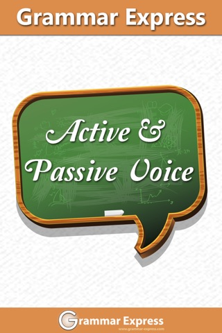 Grammar Express: Active & Passive Voice Lite screenshot 1