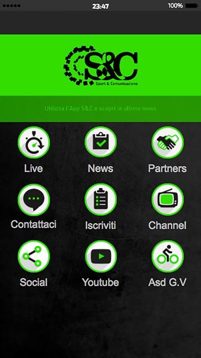 Screenshot of Sport & Comunicazione1