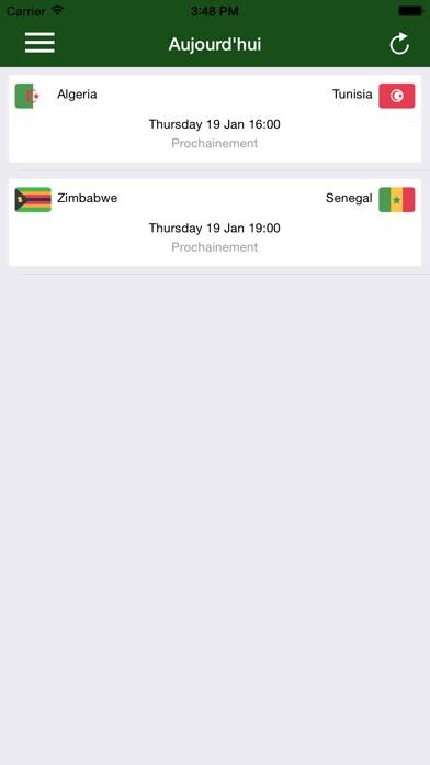 Coupe Africa 2017Capture d'écran de 1