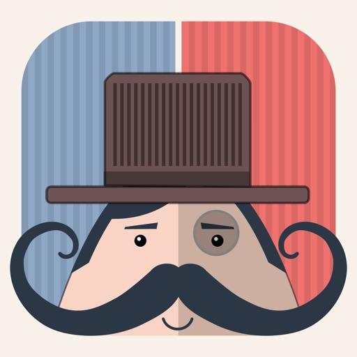 Mr. Mustachio: A Brain Teaser iOS App