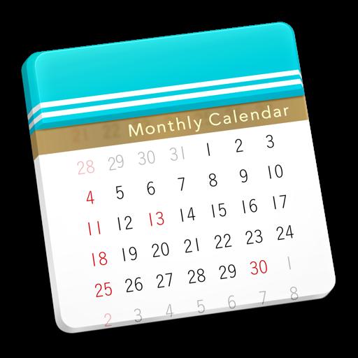 Moca - Monthly Calendar