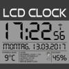 LCD Wallclock+Weather