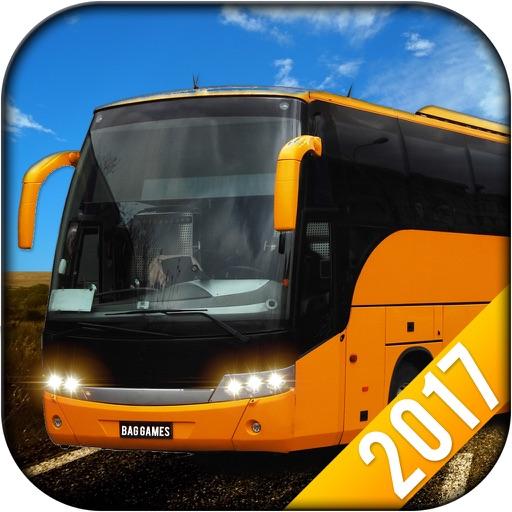Offroad Bus Driving Sim-ulator 2017 Icon