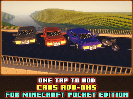 Cars Addons Maps For Minecraft Pocket Edition Pe On The App Store