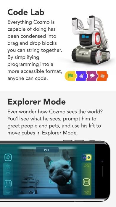 Cozmo review screenshots
