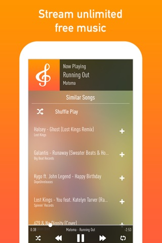 Download SpinTunes Music app for iPhone and iPad