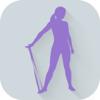 阻力带健身阻力带练习和锻炼程序训练