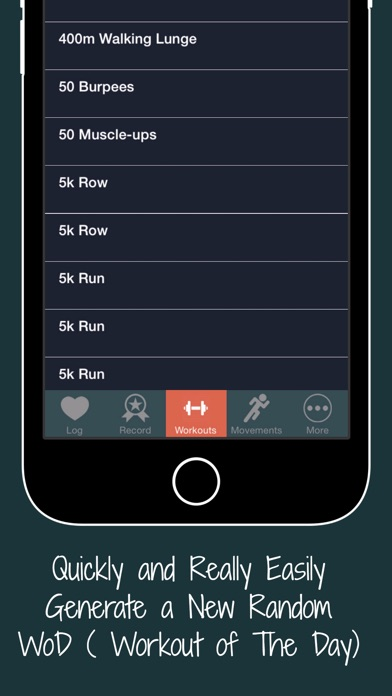 WOD Workout List & Functional Mobility Fitness screenshot three