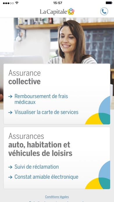 La capitale r clamation dans l app store for Assurance maison desjardins