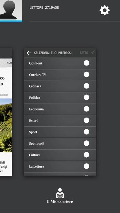 Screenshot of Corriere UP5