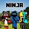 New Ninja Skins for Minecraft Pocket Edition fruit ninja