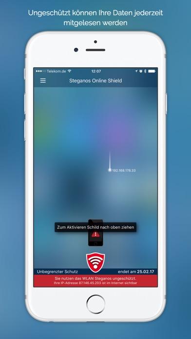 Steganos Online Shield VPN Screenshot