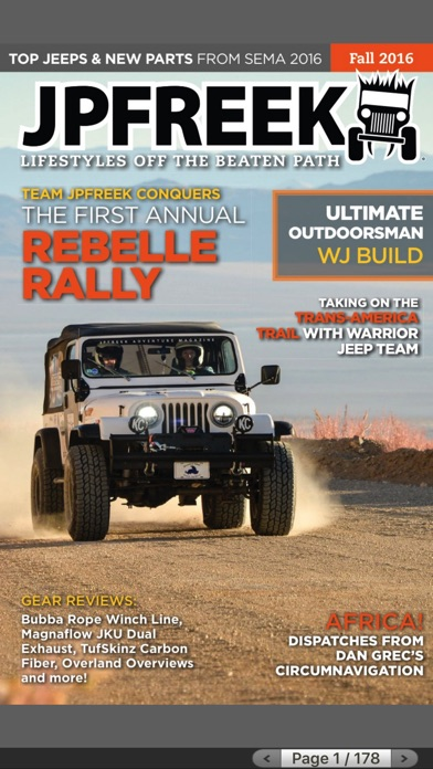 Jpfreek Adventure Magazine review screenshots