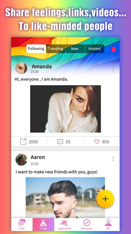 Lgbt chat room app