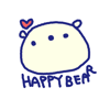 Happy Bear Stickers!! Wiki