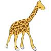 Jungle Giraffes One Sticker Pack