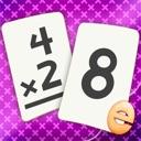 Multiplikation Flash Cards Spiele Fun Math Problem