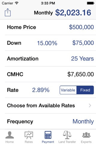 Annie Mirza Mortgage App screenshot 2