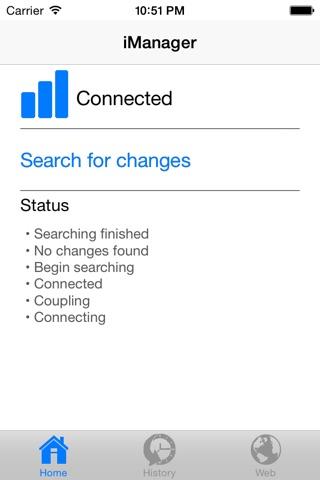 iManager App screenshot 1