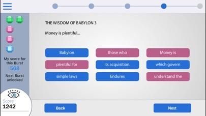 Richest Man in Babylon: The Blink Training Course screenshot
