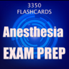 Anesthesia Exam Review 2017 : 3300 Flashcards Q&A Wiki
