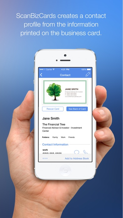 Scanbizcards Business Card Reader On The App Store