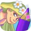 Principessa Raperonzolo colorare e prenota la pitt
