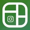 InstaGrid For Instagram PhotoGrid Split Pic On IG split pic