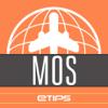 Moscú Guía de Viaje con Mapa Offline & Metro