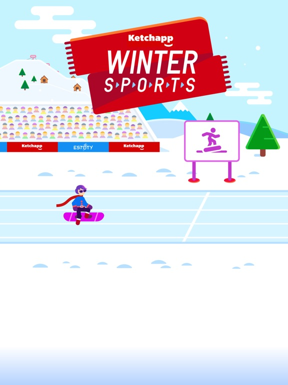 Ketchapp Winter Sports на iPad