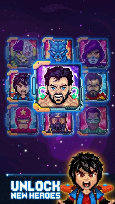 """Супергерой: """"массой"""" упала Screenshot"""
