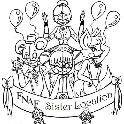 Coloring Pages For FNAF Sister Location - App Store Revenue ...