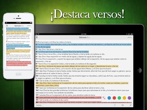 Biblia Reina Valera Audiolibro screenshot 2