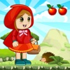 Little Red Riding Hood Run - Jump Girl Game