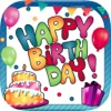 Geburtstag Grußkarten - Foto-Editor