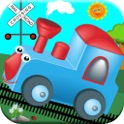 Train Games For Kids! Dinosaur, Zoo Toddler Trains icon
