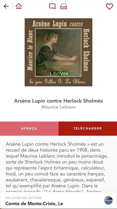 Livres Audio HQ Скриншоты7