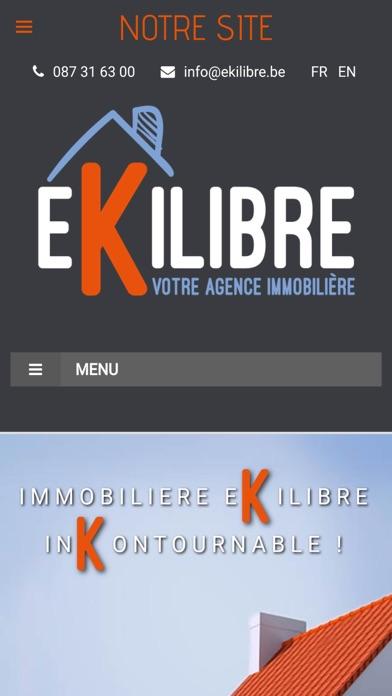 Ekilibre - Agence immobilièreCapture d'écran de 5