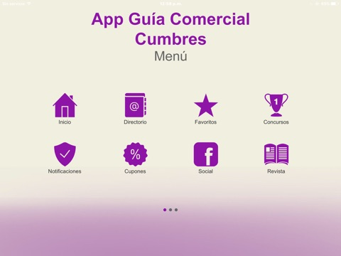 App Guia Cumbres screenshot 1