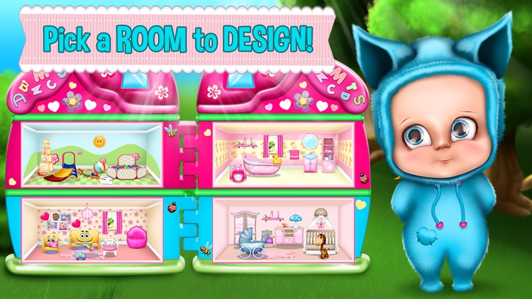 Baby Doll Games For Girls House Decoration Screenshot 4