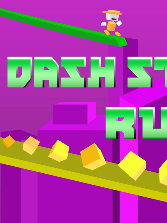 Screenshot #1 for Dash Striker Run - Tiny Switch Chameleon Color