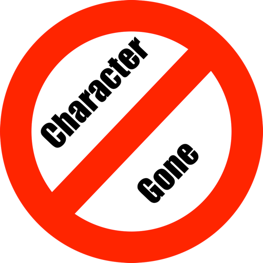 CharacterGone: Remove Characters From Text