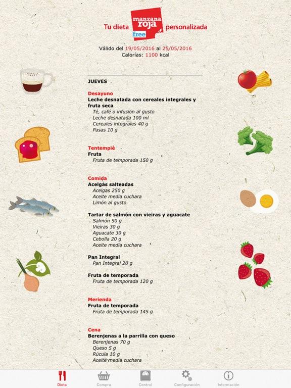 Dieta personalizada gratis