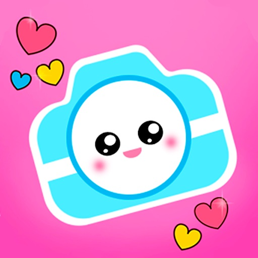 kawaii camera   cute sticker by mahyra indietech
