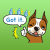 download The American Staffordshire Terrier Stickers