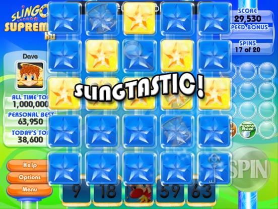 Slingo Supreme HD Screenshots