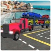 City Car Truck Transporter Game - Pro