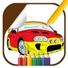 Kids Racing Car Game Coloring Page Edition