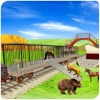 Zoo Animal Cargo Train Game